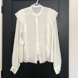 Wilfred panthère blouse
